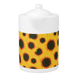 Spring colorful pattern sunflower