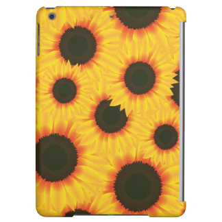 Spring colorful pattern sunflower cover for iPad air