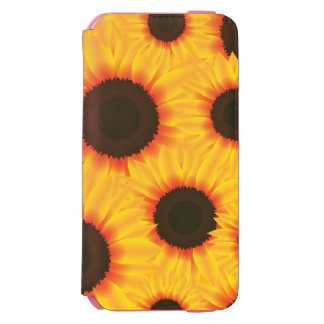 Spring colorful pattern sunflower incipio watson™ iPhone 6 wallet case