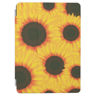 Spring colorful pattern sunflower iPad air cover
