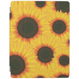 Spring colorful pattern sunflower iPad cover