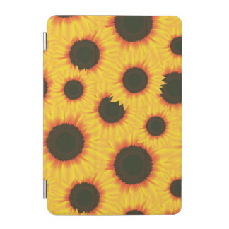 Spring colorful pattern sunflower iPad mini cover