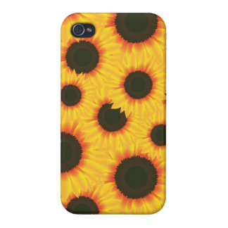 Spring colorful pattern sunflower iPhone 4/4S case