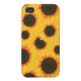 Spring colorful pattern sunflower iPhone 4/4S cases