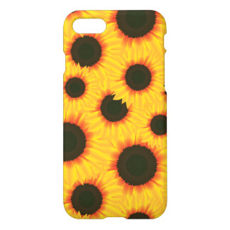 Spring colorful pattern sunflower iPhone 7 case
