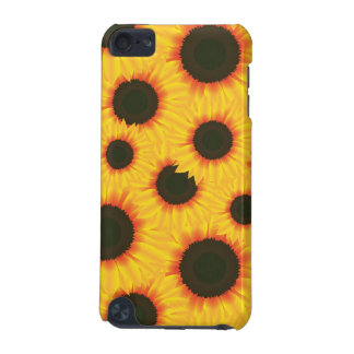 Spring colorful pattern sunflower iPod touch 5G cover