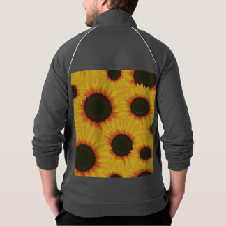 Spring colorful pattern sunflower jacket