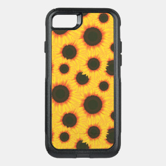 Spring colorful pattern sunflower OtterBox commuter iPhone 7 case