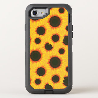Spring colorful pattern sunflower OtterBox defender iPhone 7 case