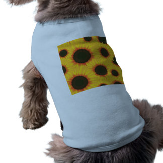 Spring colorful pattern sunflower shirt