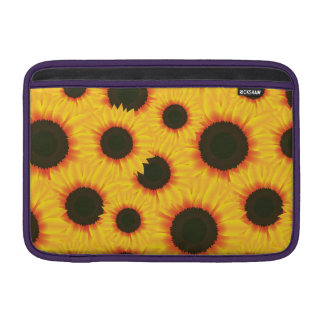 Spring colorful pattern sunflower sleeve for MacBook air