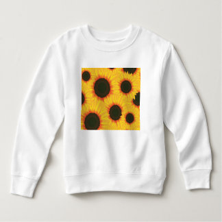 Spring colorful pattern sunflower sweatshirt