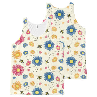 Spring Colors All-Over-Print Tank Top
