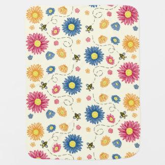 Spring Colors Baby Blanket