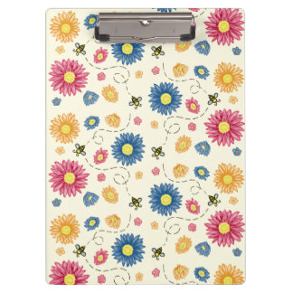 Spring Colors Clipboard