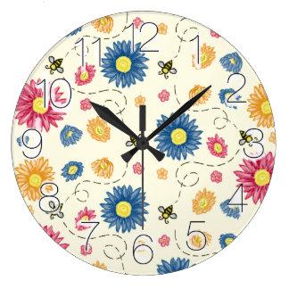 Spring Colors Clocks