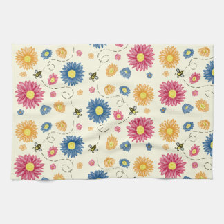 Spring Colors Kitchen Towel