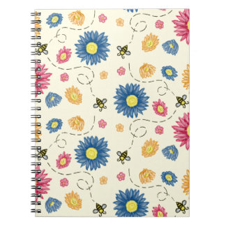 Spring Colors Spiral Note Books