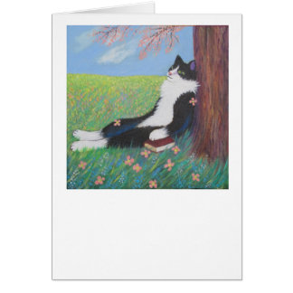 SPRING COMES AT LAST! CARD