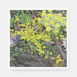 Spring Cottage Garden Ground Covers Napkin