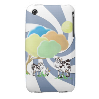 Spring Cow and Calf iPhone 3G 3GS BT Case