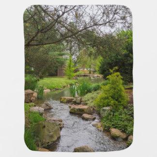 Spring Creek Beauty Baby Blanket