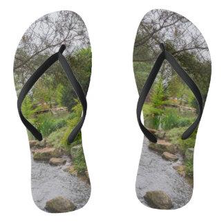 Spring Creek Beauty Flip Flops