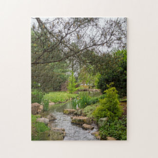 Spring Creek Beauty Jigsaw Puzzle