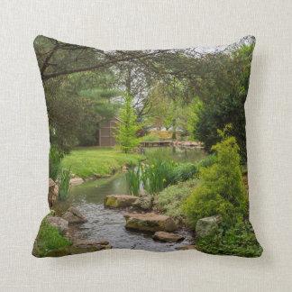 Spring Creek Beauty Throw Pillow