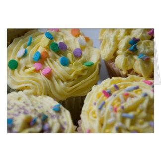 Spring Cupcake Card