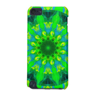 Spring Daffodil, Green Blue Yellow Flower Dance iPod Touch 5G Case