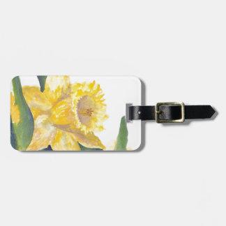Spring Daffodils Luggage Tag