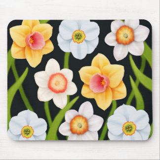 Spring Daffodils Mousepad