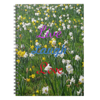 Spring Daffodils Notebook