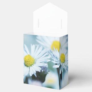 Spring daisy flower favor box