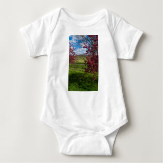 Spring Day In Rivercut Baby Bodysuit