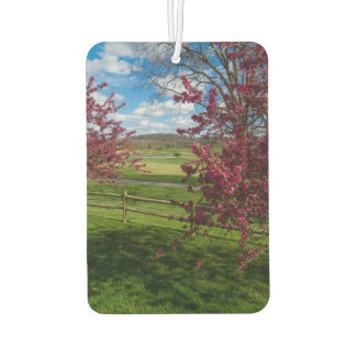 Spring Day In Rivercut Car Air Freshener