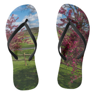 Spring Day In Rivercut Flip Flops
