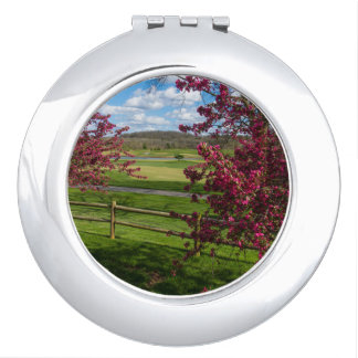 Spring Day In Rivercut Makeup Mirror