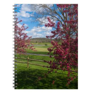 Spring Day In Rivercut Note Book