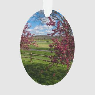 Spring Day In Rivercut Ornament