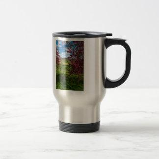 Spring Day In Rivercut Travel Mug
