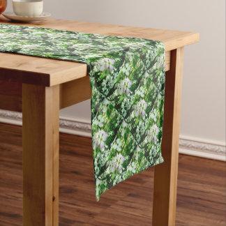 Spring Dogwood Short Table Runner