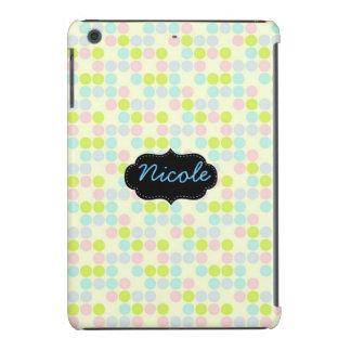 Spring dots ipad case