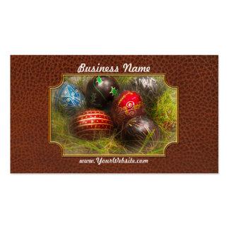 Spring - Easter - Easter Eggs Business Card
