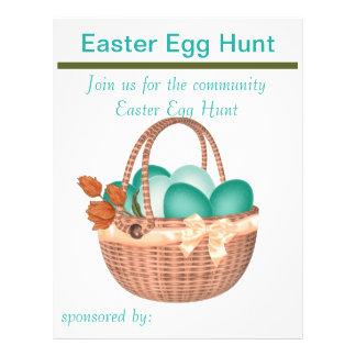 Spring Easter Egg Hunt Flyer