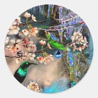 Spring Equinox Round Sticker