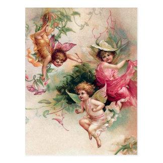 Spring Faeries Postcard