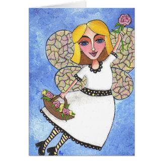 Spring Fairy - notecard