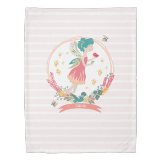 Spring Fairy Personalised Duvet Cover